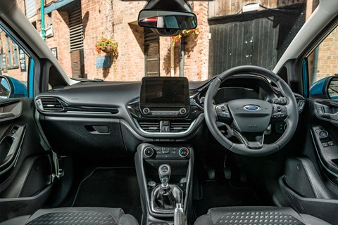 Fiesta vs Ibiza vs Clio ford interior