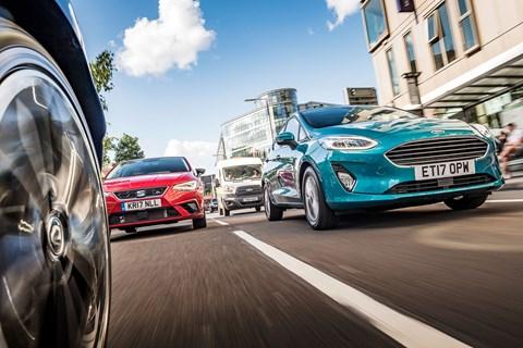 Fiesta vs Ibiza vs Clio low tracking