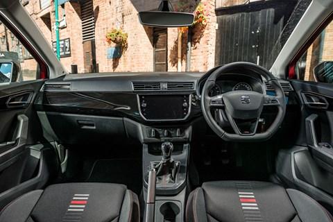 Fiesta vs Ibiza vs Clio seat interior