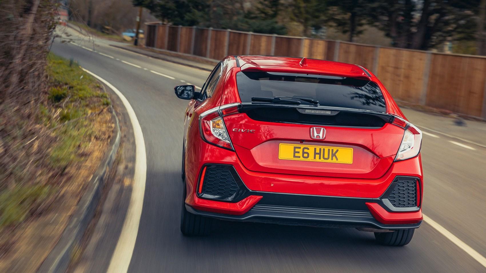 Honda Civic 1 0 VTEC Turbo EX manual (2018) review   CAR
