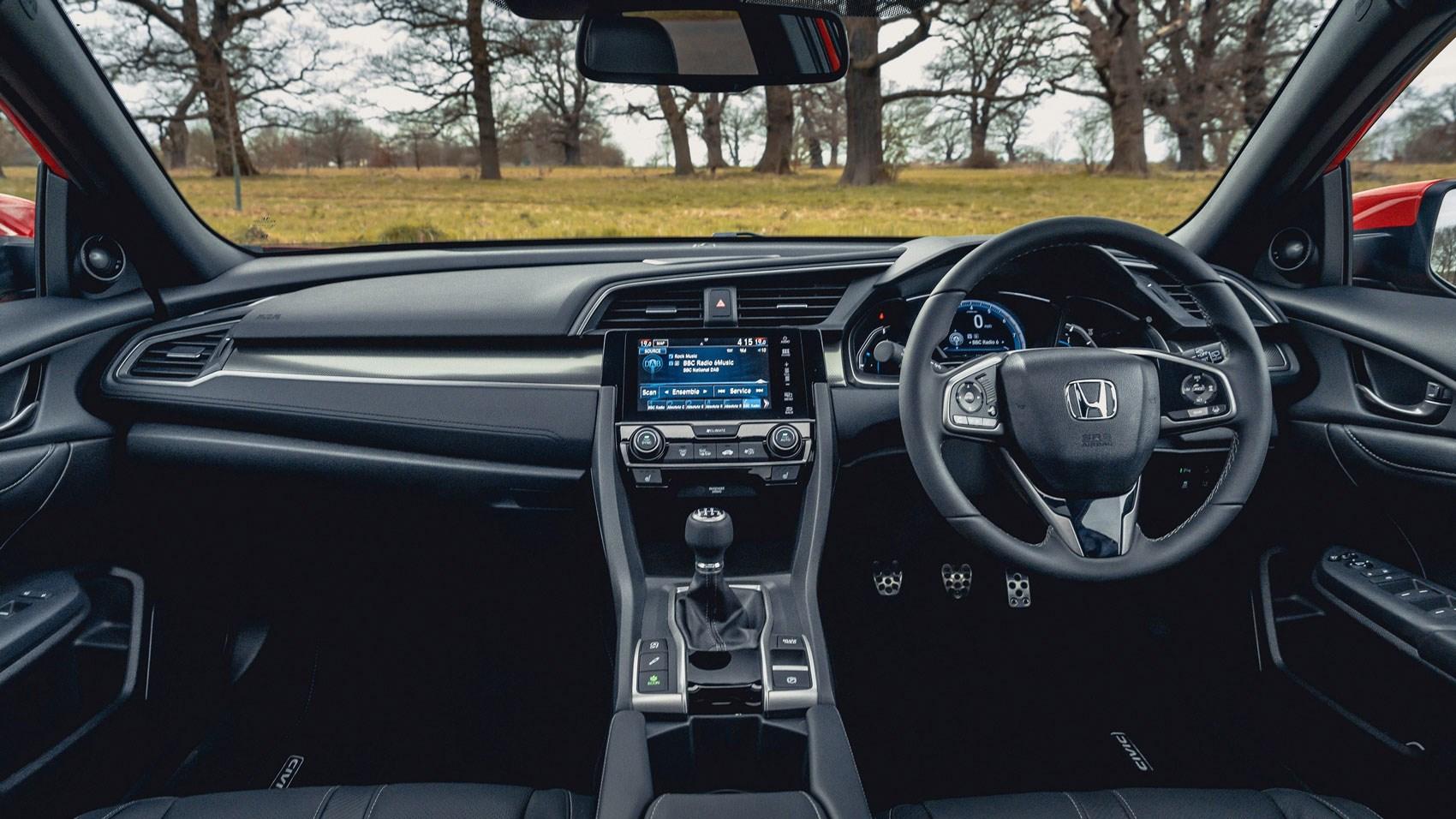 Honda Civic 1.0 interior