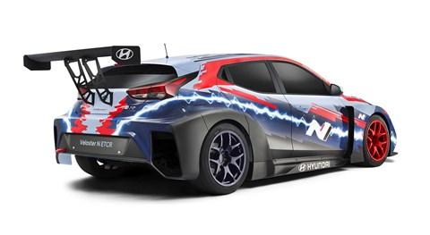 The new Hyundai Veloster N ETCR