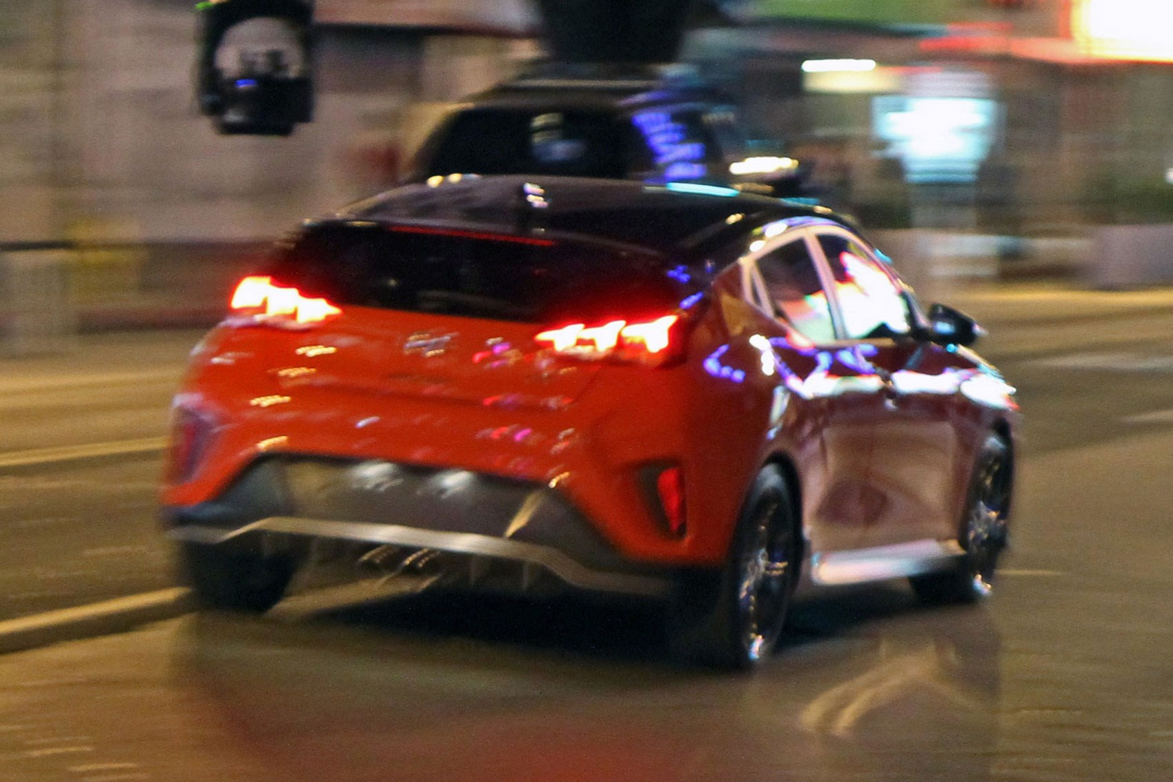 New hyundai veloster 2018 new coupe blasts into naias for Hyundai motor company usa