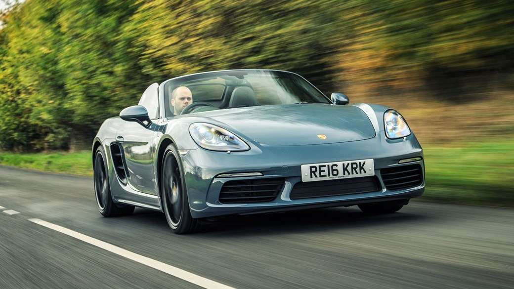Porsche 718 Boxster 2018 Review All The Sports Car You Need