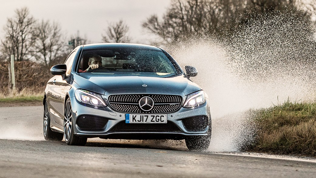 Our Mercedes-AMG C43 Coupe: shaping up nicely