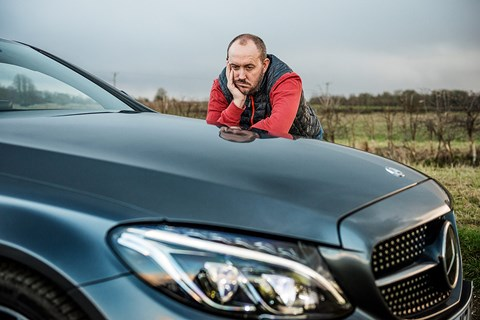 The CAR magazine Mercedes-AMG C43 Coupe and Steve Moody