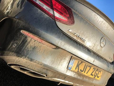 Mercedes-AMG C43 Coupe vs winter