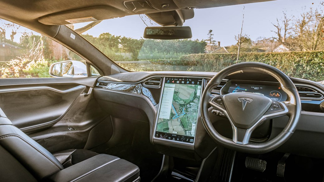 Inside The Cabin Of Our Tesla Model S Long Term Test Car Interior Dominated