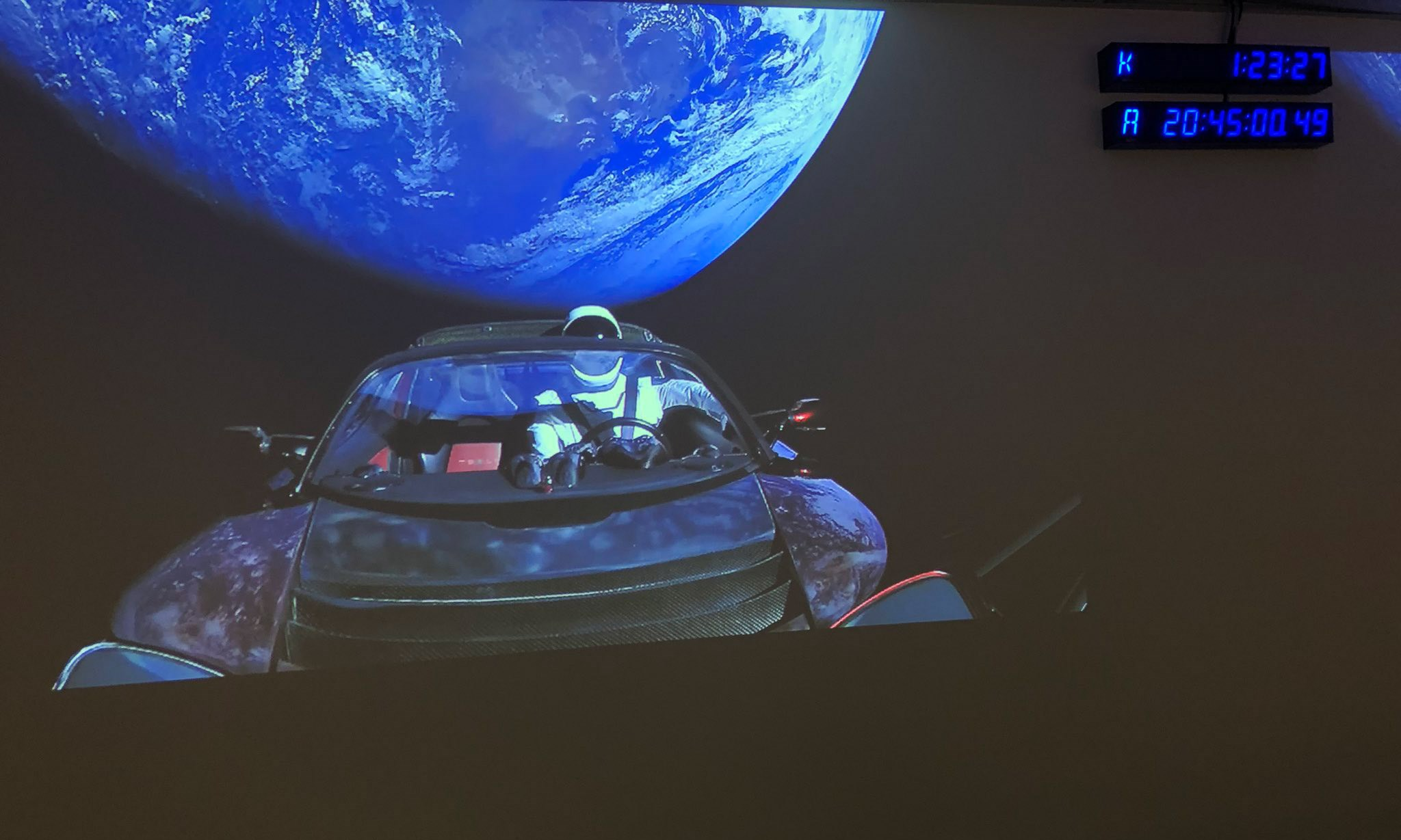 why a tesla roadster is heading into space car magazine. Black Bedroom Furniture Sets. Home Design Ideas