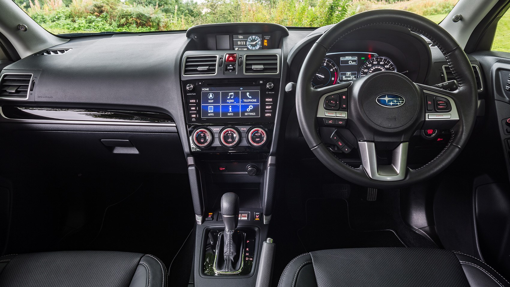 Subaru Forester 20i Xe Premium Lineartronic 2018 Review Car Boxer 4 Engine Fwd Trans Diagram The Interior Of A Shrine To Cheap Plastic But Its Tough As Old Boots