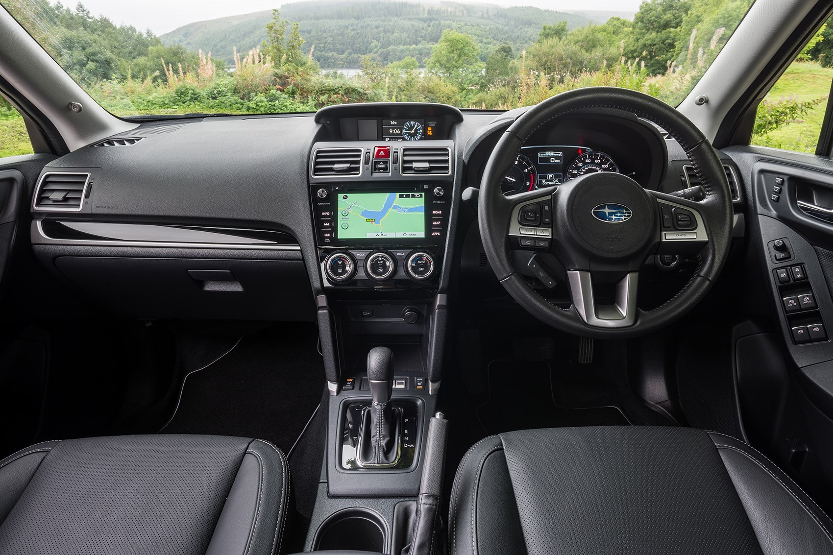 Inside the 2018 Subaru Forester interior: tough and basic but all works