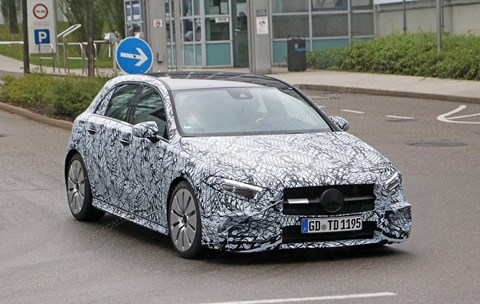 Mercedes-AMG A35 spy photos: specs, prices and delivery dates