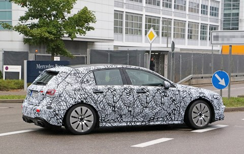 The new 2018 Mercedes-AMG A35 hot hatch