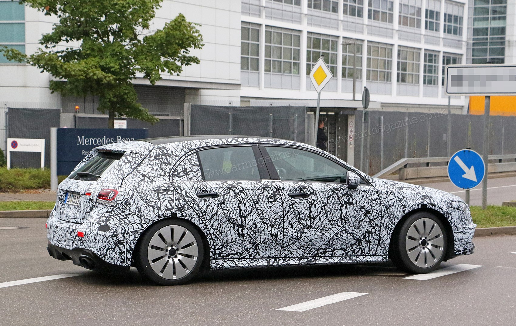 Mercedes-AMG A35 hot hatch spy photos and specs | CAR Magazine