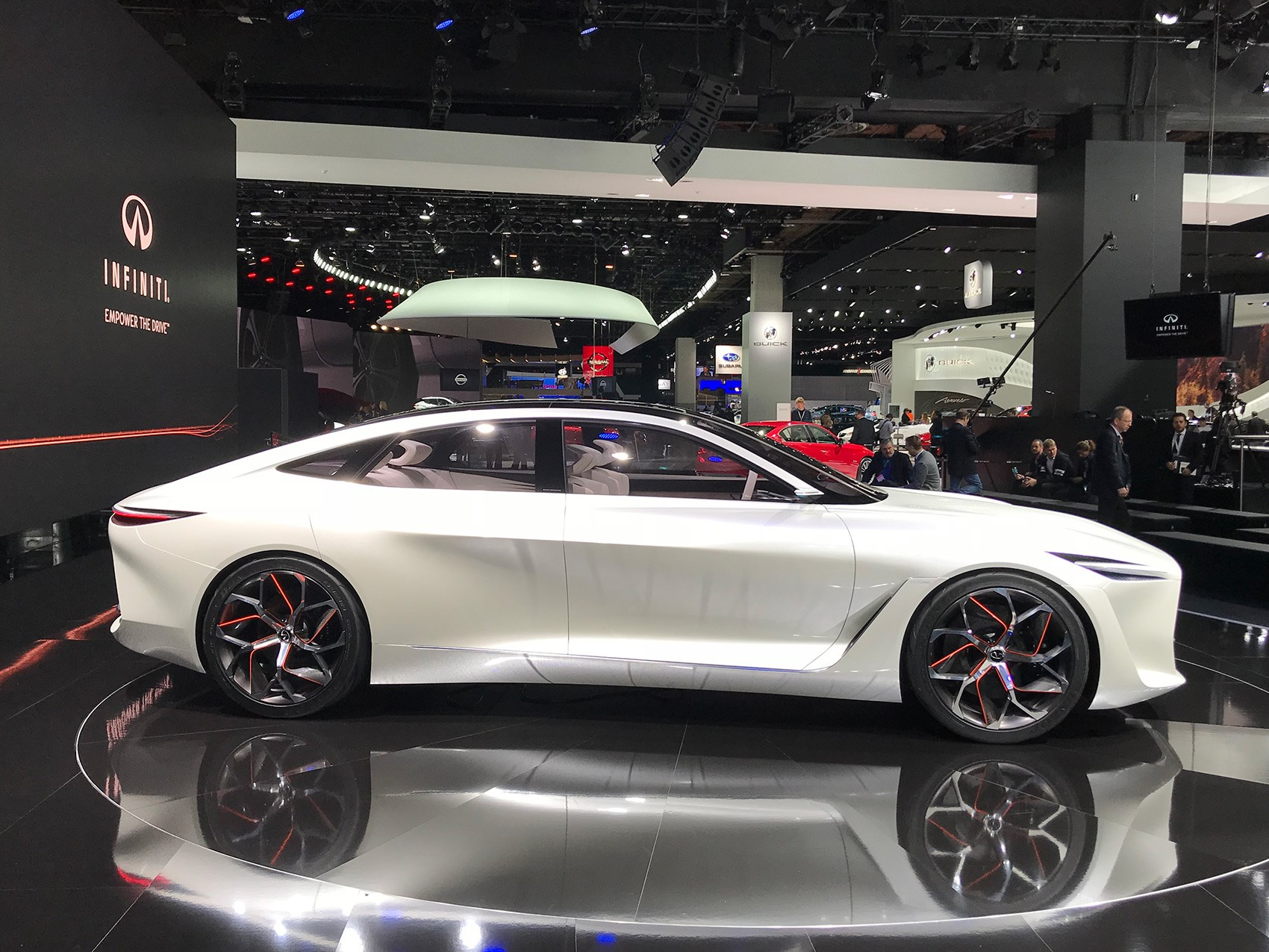 Infiniti infiniti concept car : Infiniti Q Inspiration Concept is a zen wellbeing instructor on ...