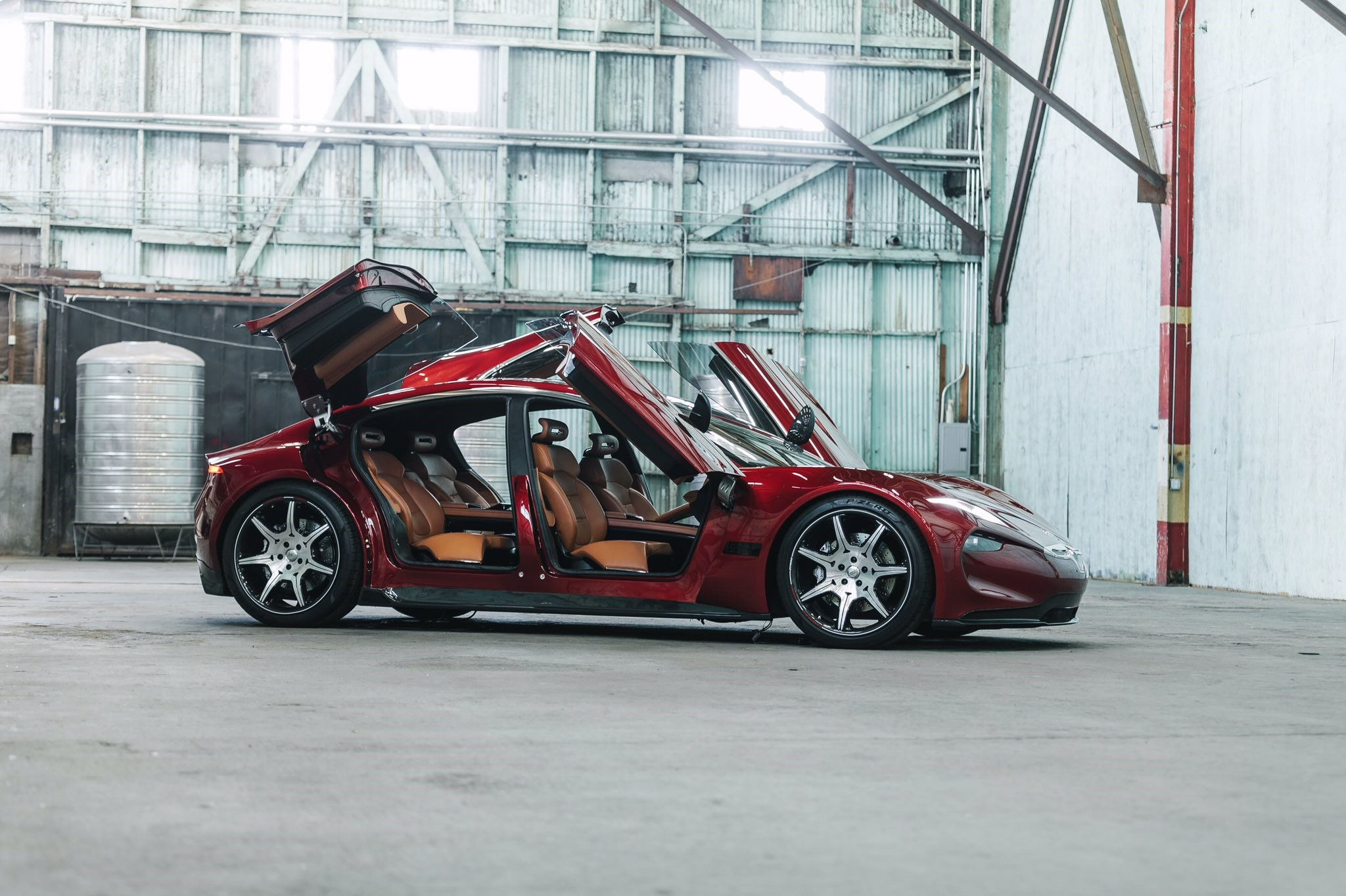 Fisker Emotion Electric Supercar New Pictures Reveal