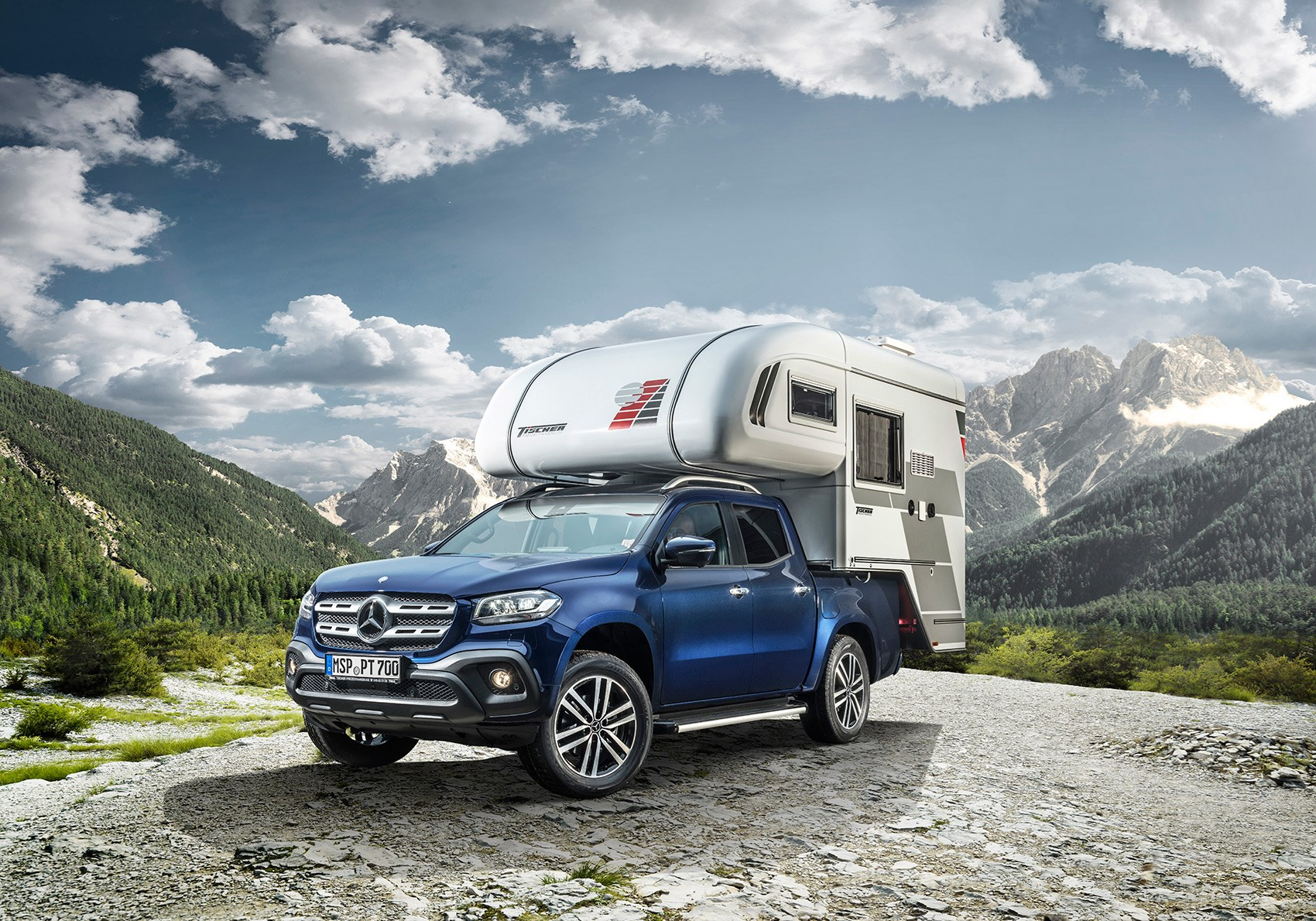 mercedes benz x class pick up camper van pictures specs prices by car magazine. Black Bedroom Furniture Sets. Home Design Ideas