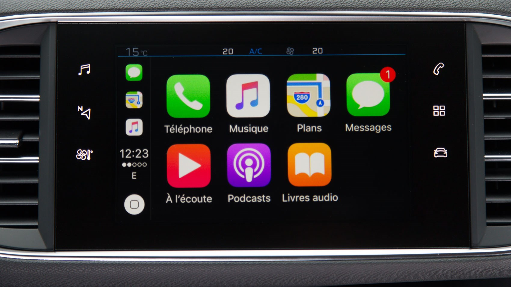 Peugeot 308 SW 2018 carplay