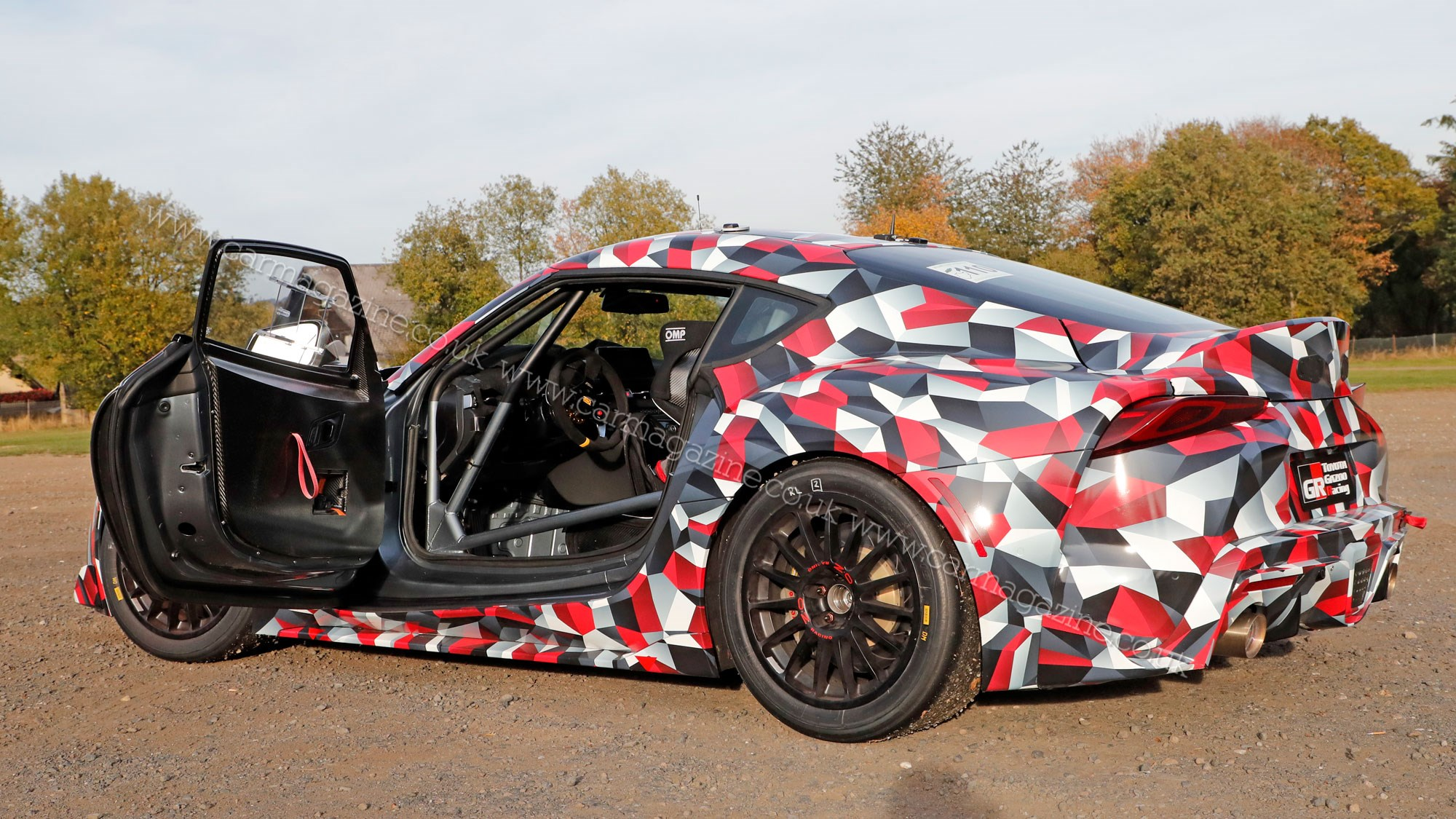New Toyota Supra Revealed Fresh Pictures Emerge As UK Preorders - Goodwood hardware car show