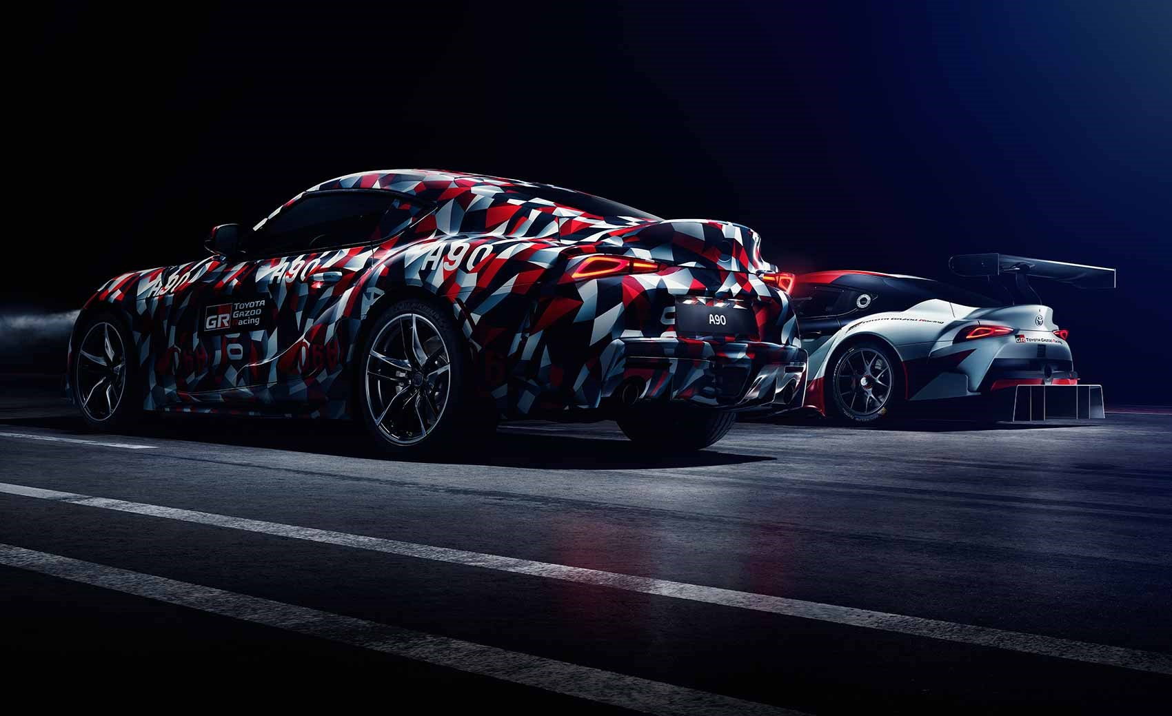 New 2019 toyota supra interior to be heavily driver focused car the new 2019 toyota supra this disguised prototype will run up the hill at the 2018 goodwood festival of speed publicscrutiny Images