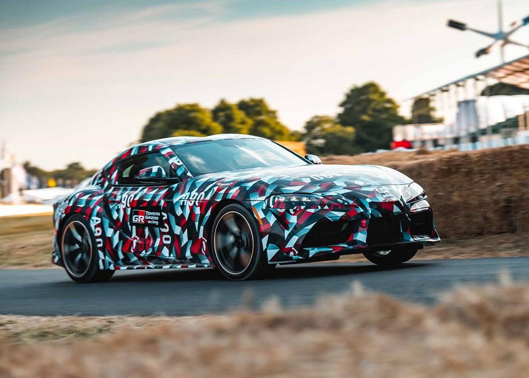 New Toyota Supra Revealed Pictures Specs News Car Magazine