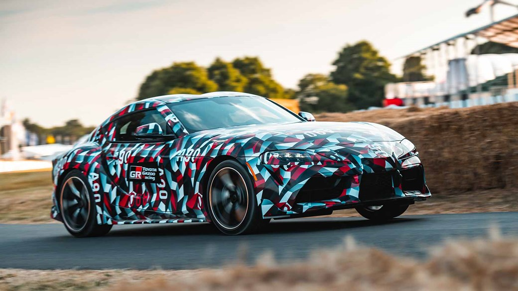 Dynamic Debut Of Toyota Supra Prototype At 2018 Goodwood Festival Sd