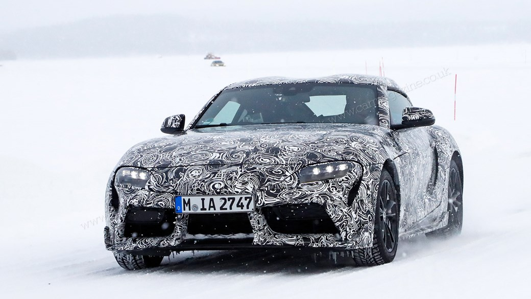 ... The New 2019 Toyota Supra: Winter Testing