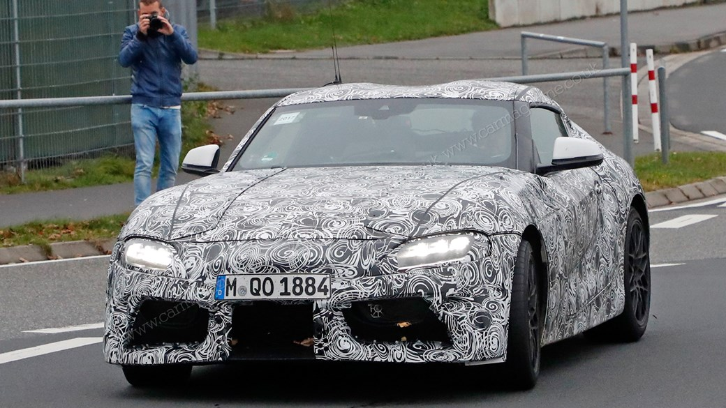 New Toyota Supra revealed: fresh pictures emerge as UK pre-orders ...