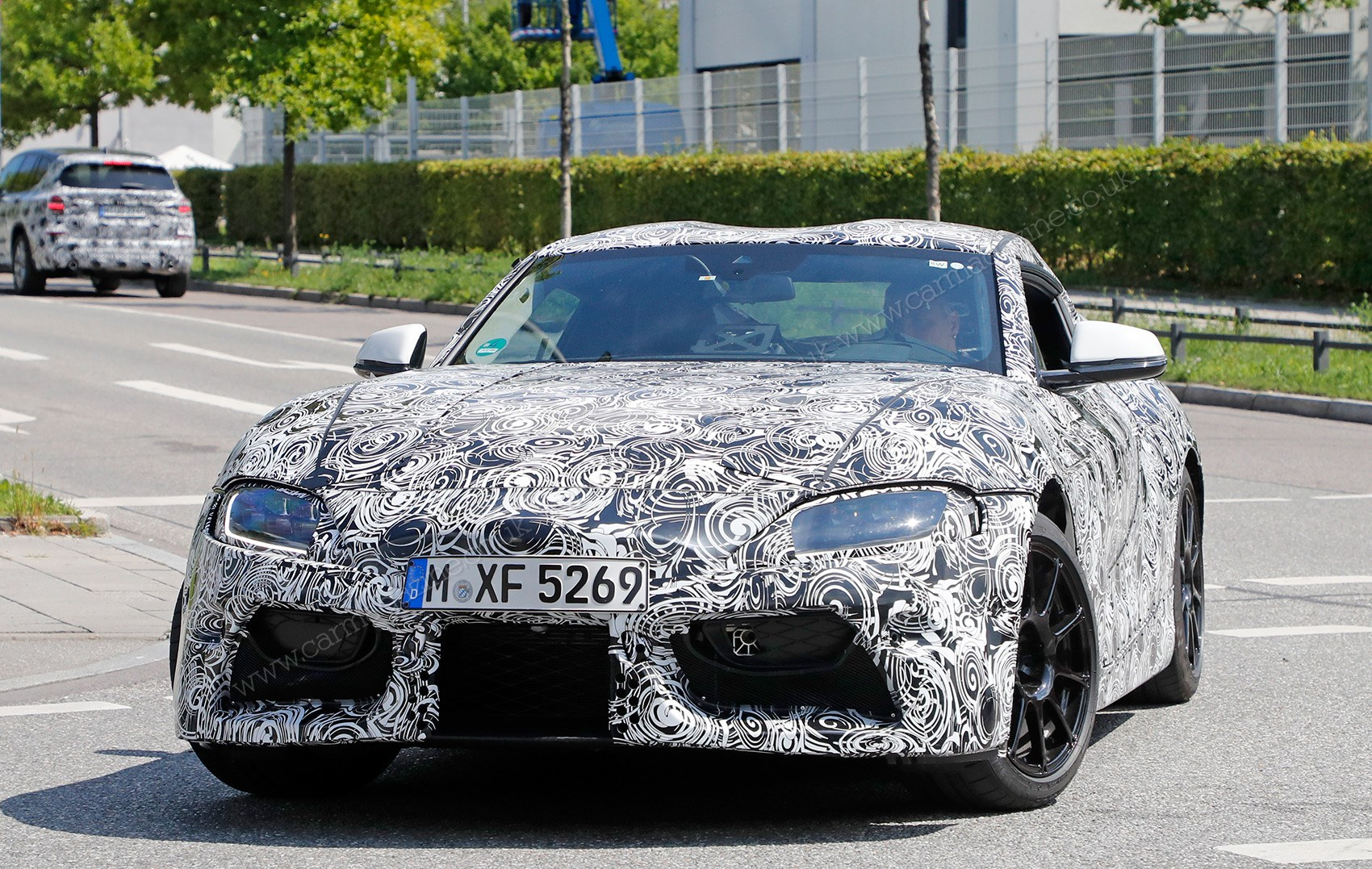 The New 2019 Toyota Supra Spied Out And About On Test