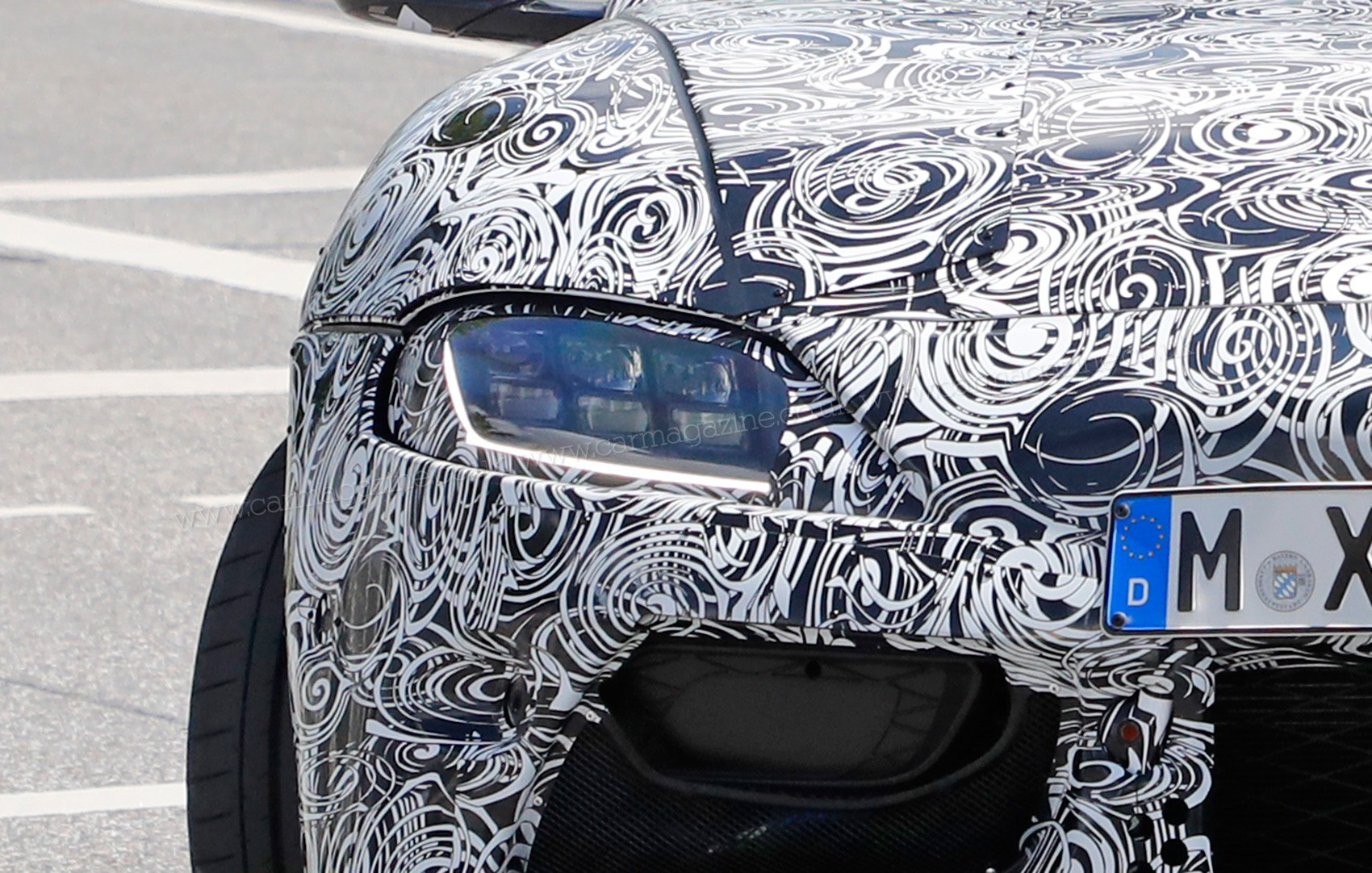 Toyota toyota cube : New Toyota Supra: interior leaked in our latest snaps by CAR Magazine