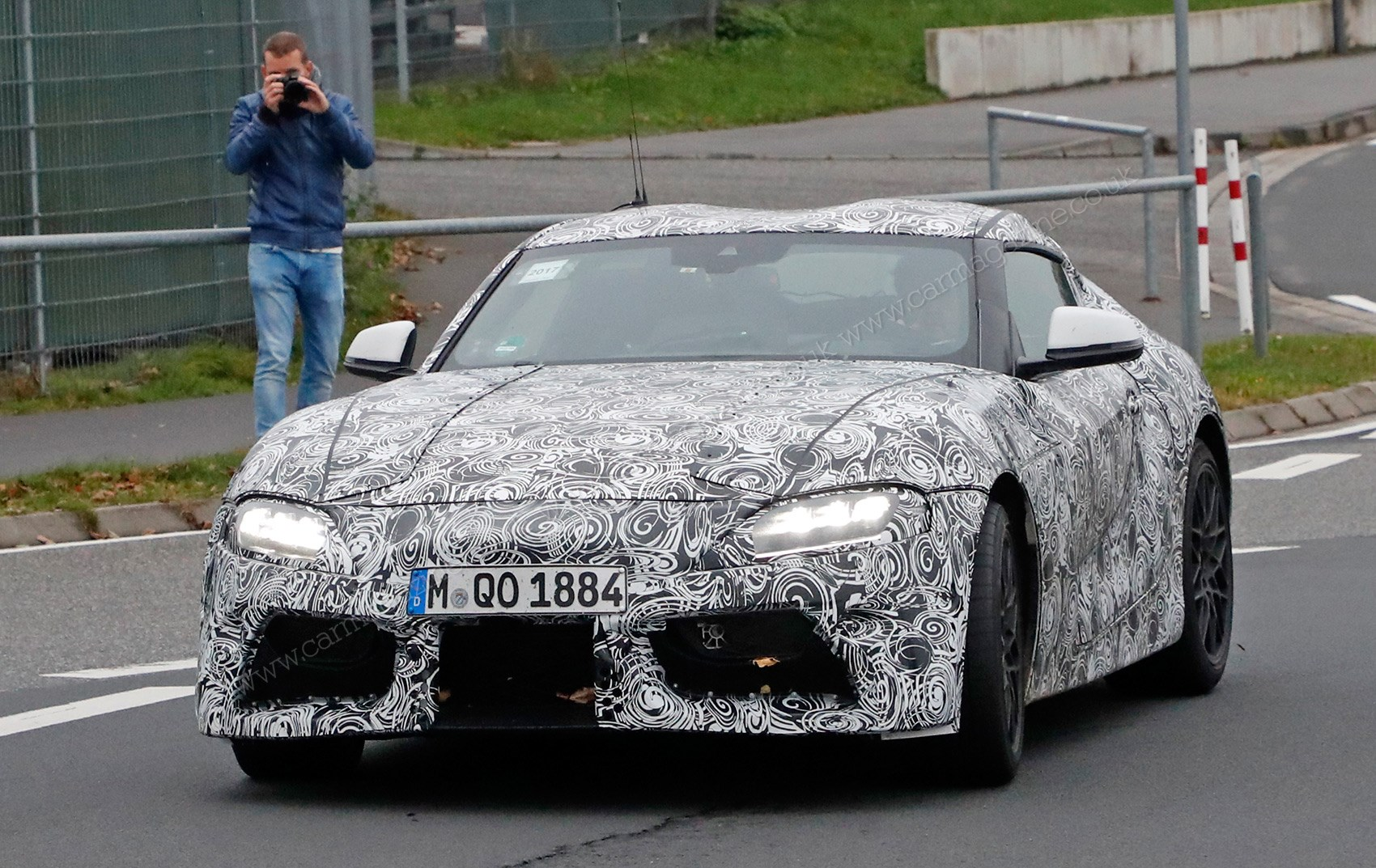 New Toyota Supra Revealed Fresh Pictures Emerge As Uk Pre