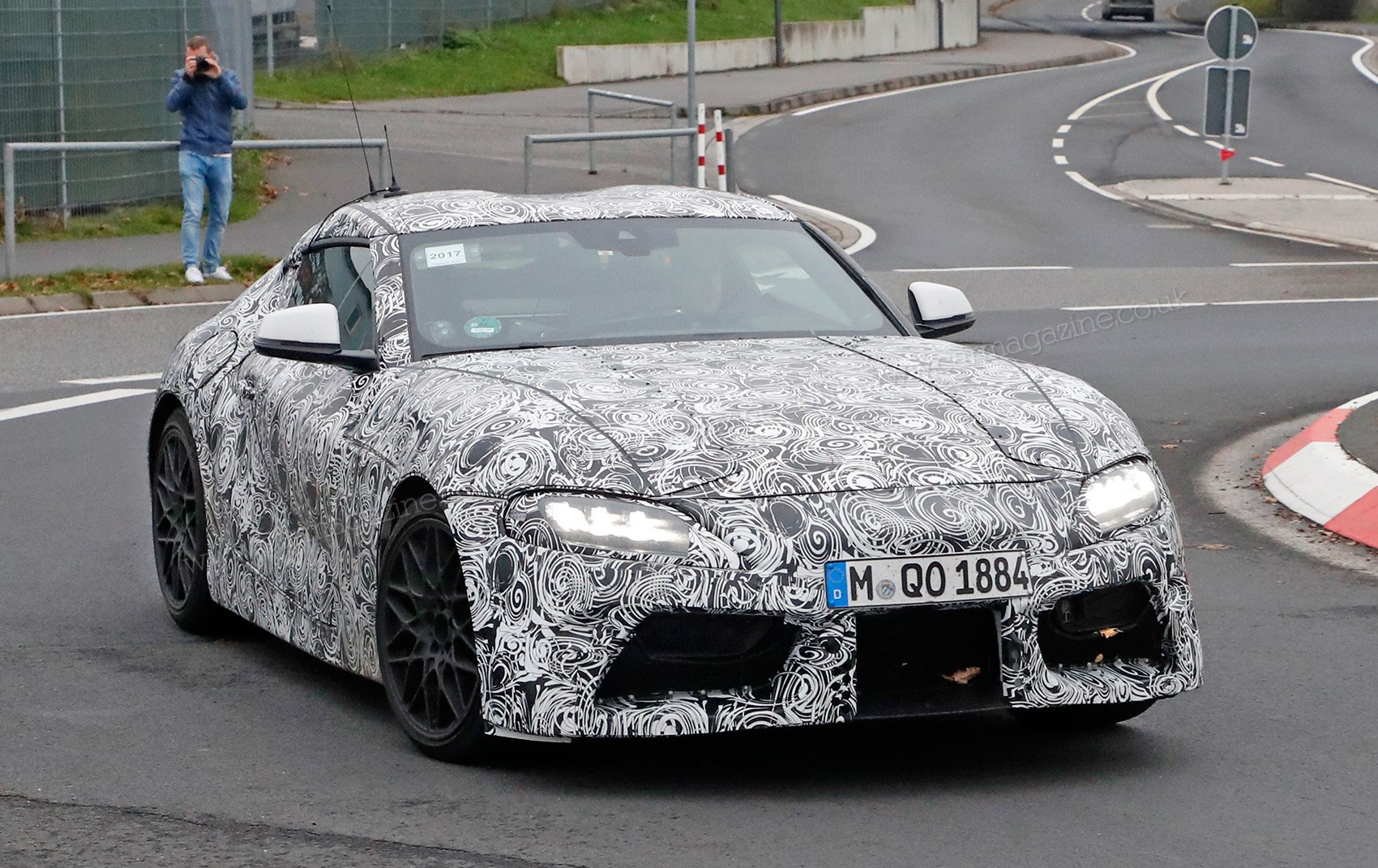Gazoo Racing Are Testing The New 2019 Toyota Supra Extensively At The  Nurburgring