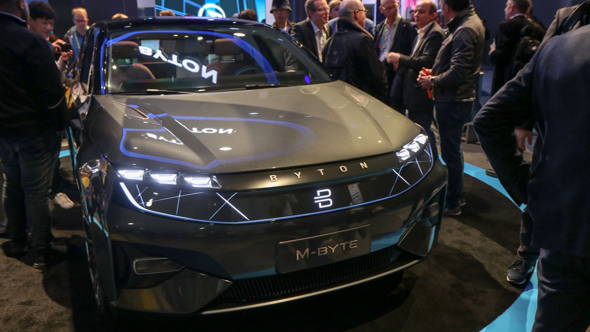 Byton M Byte Connected Suv Goes Cold Weather Testing