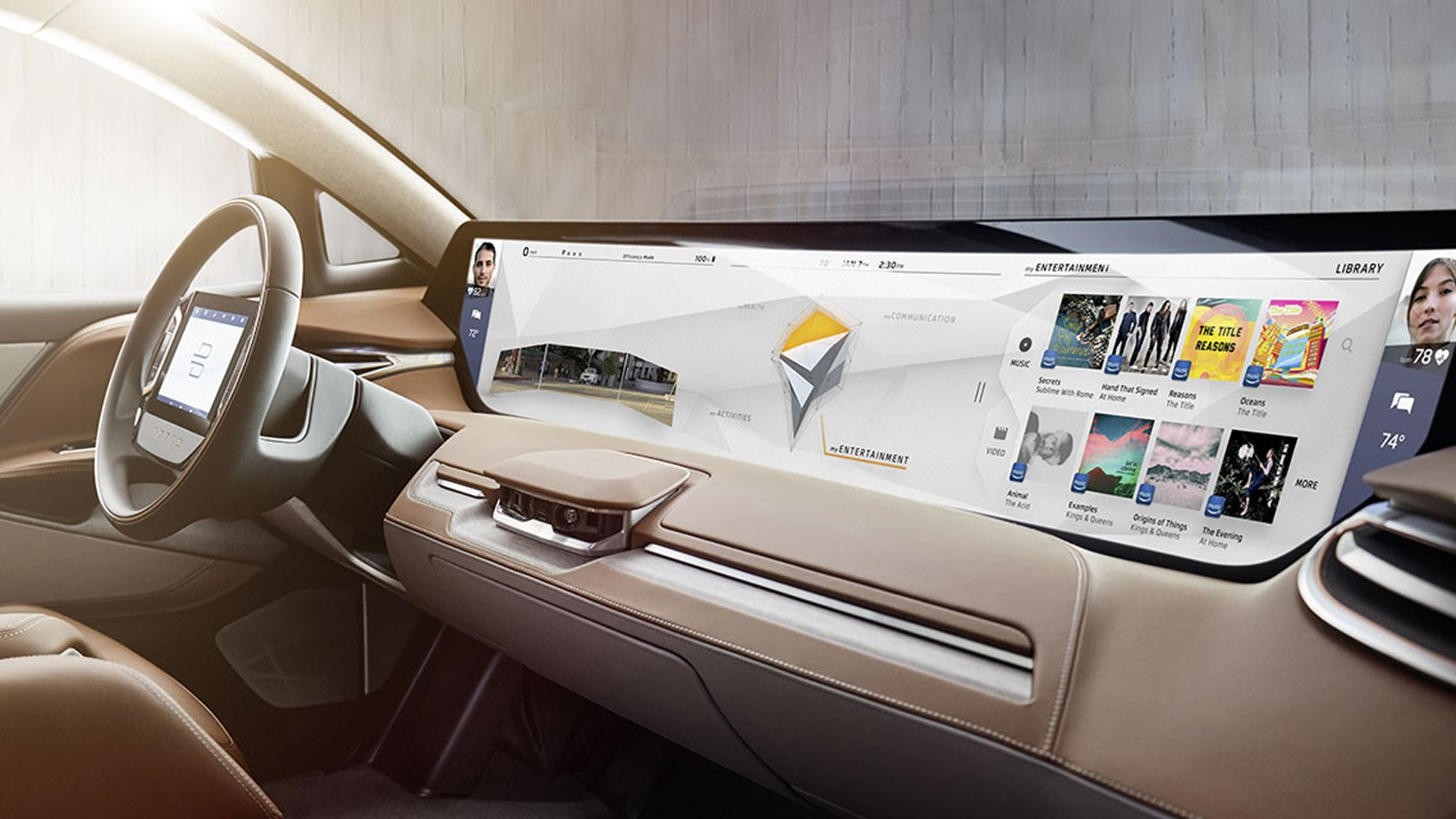 the byton concept could be the most connected tech heavy suv ever car magazine. Black Bedroom Furniture Sets. Home Design Ideas