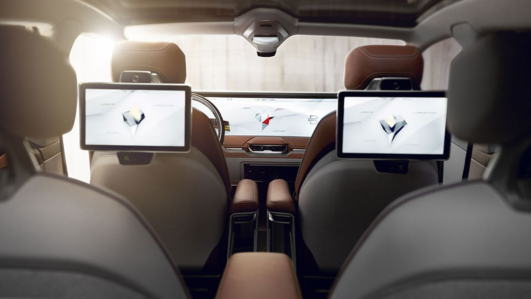 Byton Interior Concept Revealed At Ces 2019