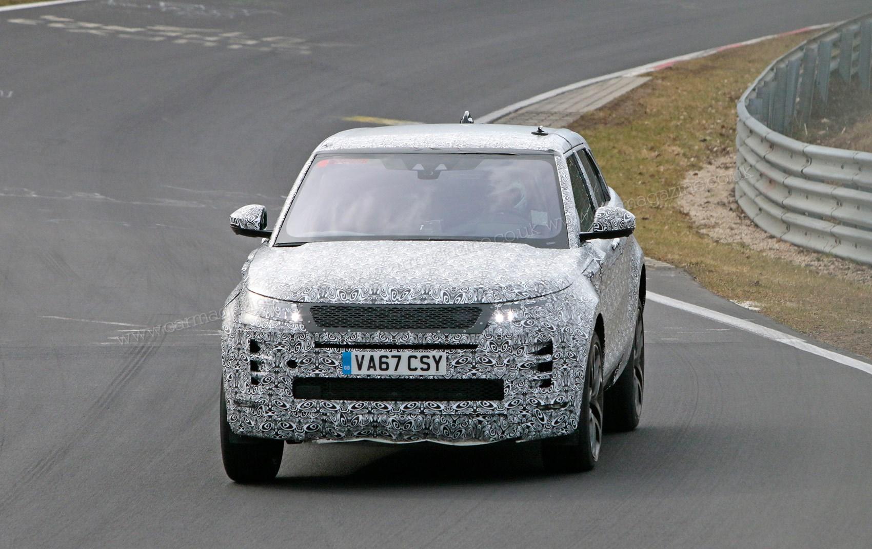 New 2019 Range Rover Evoque spy photos, specs, prices | CAR Magazine