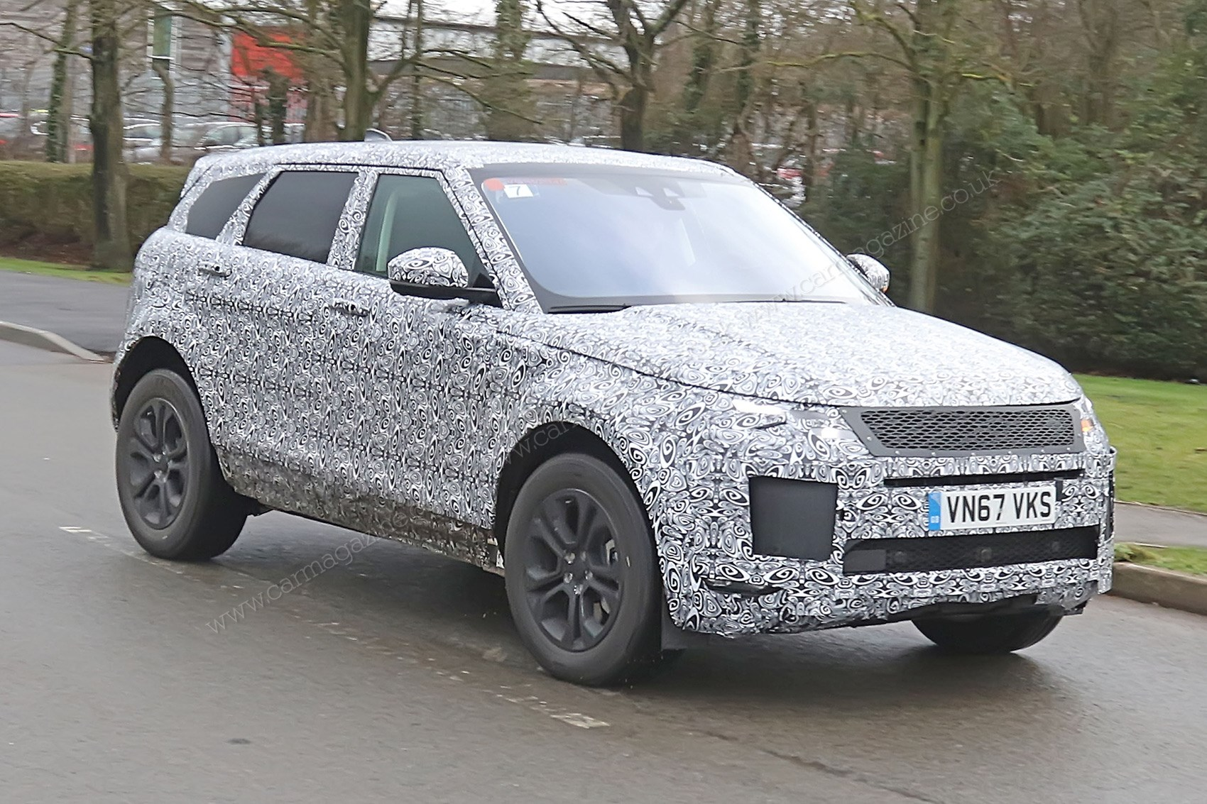 This Range Rover Evoque Is Registered As A 2 0 Litre Petrol Electric Hybrid