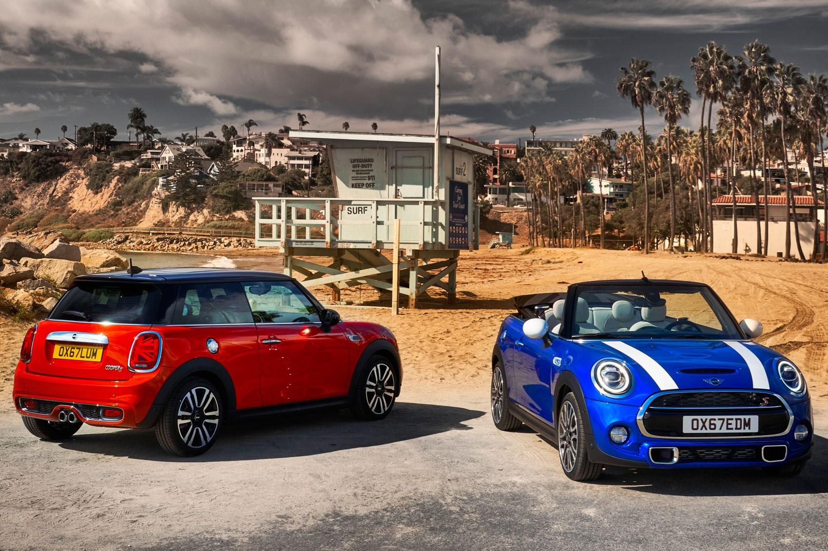Mini 2018 Facelift >> New 2018 Mini Hatchback Five Door Convertible Facelift Car Magazine