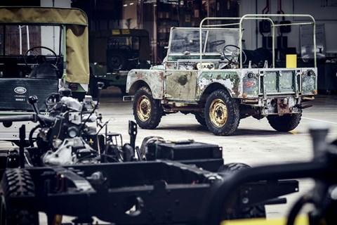 Series 1 restoration rear quarter