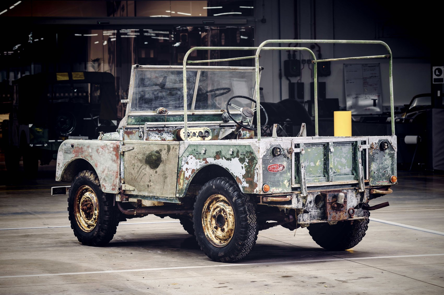 Land Rover S 70th Anniversary Restoration Series 1 Prototype Raised From The Dead Car Magazine