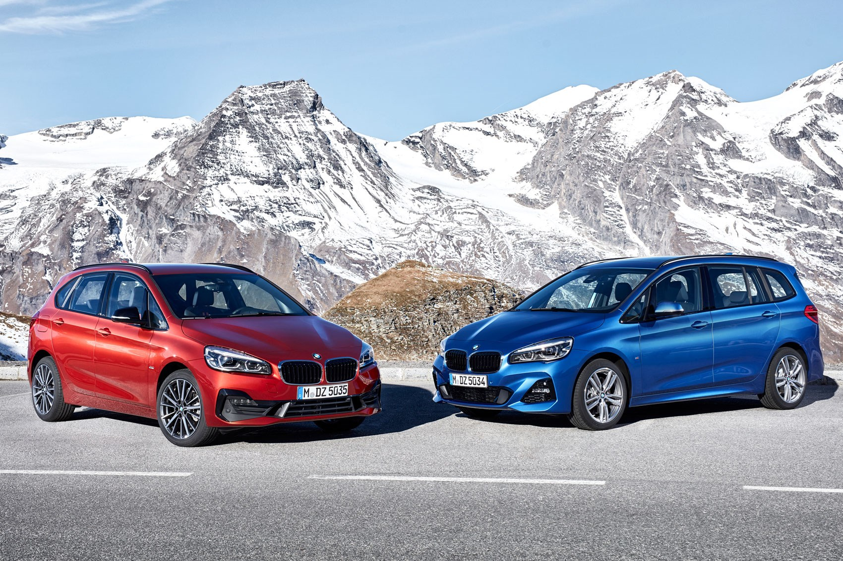 bmw 2 series active tourer and 2 series gran tourer facelift. Black Bedroom Furniture Sets. Home Design Ideas
