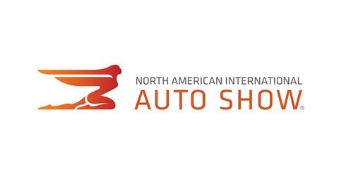 The official 2018 NAIAS Detroit auto show logo