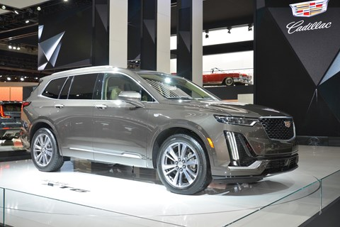 Cadillac XT6: a big American launch at 2019 NAIAS