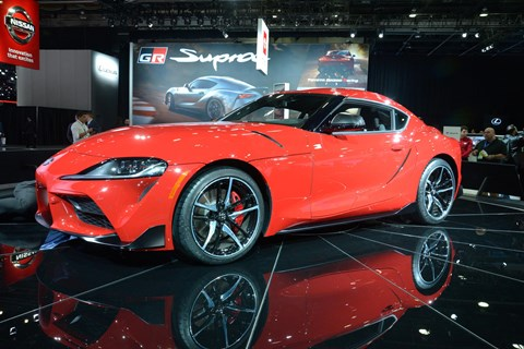 Toyota Supra: leaked already, but shown for real at the 2019 NAIAS