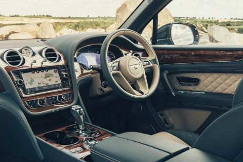 Bentley Bentayga cabin: a very quality interior