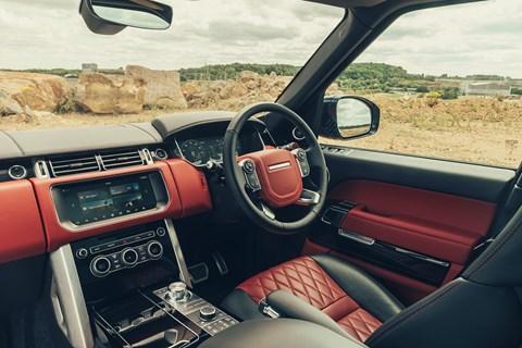 Range Rover SVA Dynamic interior: the cabin
