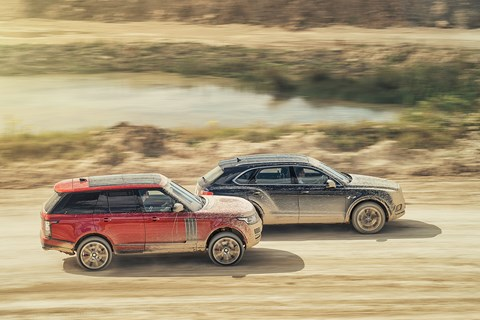 Mud brothers: we tested the Bentayga and Range Rover in a quarry. Just like real owners do, every day...