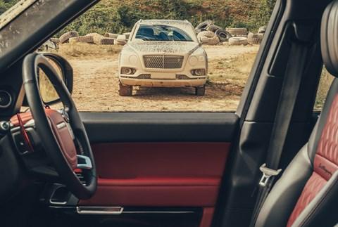 The winner of CAR magazine's group test: the Bentley Bentayga