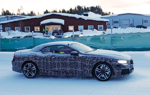 The new 2019 BMW 8-series Convertible spy photos by CAR magazine