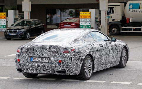 The new 2019 BMW 8-series Coupe codenamed G15